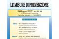 LE MISURE DI PREVENZIONE – 09.06.2017 h.15,30 – Auditorium Comunale – CASARANO