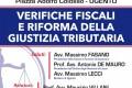 """""""Verifiche Fiscali e Riforma della Giustizia Tributaria"""" – 22 novembre 2019, h.15:00 – Chiesa Santa Filomena (Aula Consiliare c/o Municipio) – Piazza A. Colosso – UGENTO"""