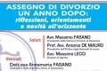 Assegno di divorzio 29.11.2019, galleria evento